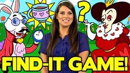 Find The Hidden Teacups in Alice in Wonderland - Fun Kids Games