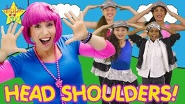 Head Shoulders Knees and Toes - Movement and Exercise Song For Kids
