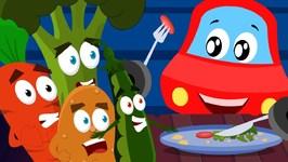 Little Red Car - I Eat Vegetable - LRC For Children