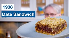 1938 Date Sandwich - Date Squares