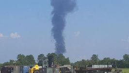 Explosion Sparks Fire at Harvey-Struck Chemical Plant in Crosby