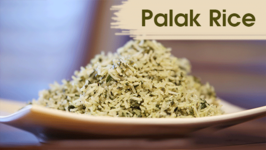Palak Rice Recipe  Instant Rice Recipe  Divine Taste With Anushruti
