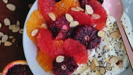 Winter Citrus Yogurt Bowl