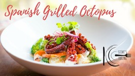 Spanish Grilled Octopus With Broccoli And Potato Salad