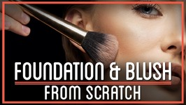 Foundation and Blush from Scratch  HTME: Cosmetics