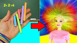 10 AMAZING BARBIE DOLL HACKS -2 - Easy doll crafts in 5 minutes or less