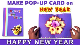 Paper Craft New Year Greeting Card How To Make A Paper Card