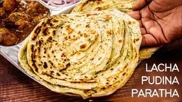 Lachha Paratha - Warqi Pudina Layered Parotta