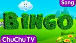 BINGO Dog Song - Nursery Rhyme With Lyrics - Cartoon Animation Rhymes and Songs for Children