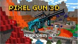 Pixel Gun 3D - Marksman M2 Trap Ctf Gameplay Review
