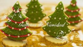 Galletas De Navidad Decoradas / Galletas De Mantequilla / Galletas Para Hacer Con Ninos