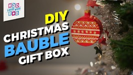 DIY Christmas Bauble Gift Box