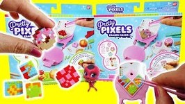 Pretty Pixels DIY Eraser Maker Sweets Fruits and Custom Miraculous Ladybug