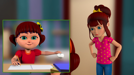 Elsa and Anna Clean Their Room- Bits of Paper-Children Popular Songs