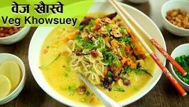 Veg Burmese Khow Suey  Veg Khow Suey Recipe  The Bombay Chef - Varun Inamdar  Rajshri Food
