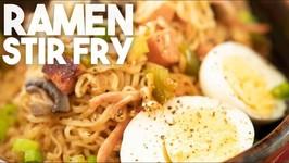 Ramen Stir Fry - Mama Noodles