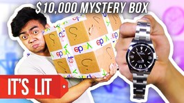 What's Inside a 10,000 Dollars Ebay Mystery Box - ROLEX WATCH