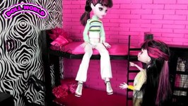 How to Make a Collapsible Monster High Draculaura Vampire Bunk Bed