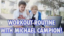 Fuller House Michael Campion And I Show Your Our Daily Workout Routine