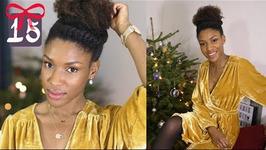 GRWM Simple & Chic - Coiffure, Maquillage et Tenue de Noël en Fêtes - Sp Vlogmas 15