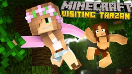 Minecraft - Little Kelly Adventures : SAVING TARZAN!