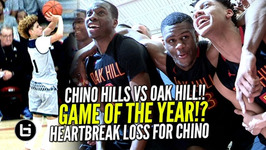 Chino Hills Vs Oak Hill Academy Epic Game Chino Hills 1st Loss IN 2 Years Jesser And Kris Sighting