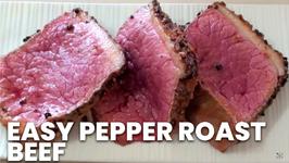 Easy Pepper Roast Beef