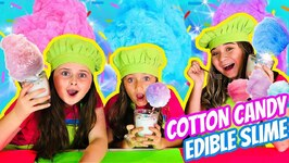 DIY Cotton Candy Edible Slime - Slime You Can Eat - DIY Edible Slime Recipe