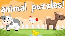 Farm Animals - An Animal Puzzle Game for Preschoolers and Toddlers