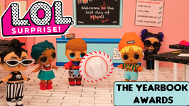 LOL Surprise!  Stop Motion Cartoon  The Yearbook Awards