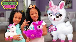Where Are My Party Clothes? (Goo Goo Girlz Pretend Play with Boppi The Dancing Llama)