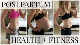 Health And Fitness - 6 Months Postpartum With Twins - With Exercises