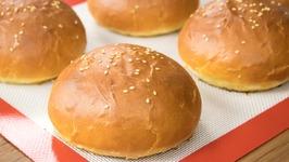 Burger Buns  Best Eggless Hamburger Buns  Super Soft Bakery Style Breads