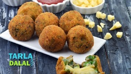 Potato Cheese Stuffed Balls