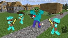 Mutant Zombie Life - Minecraft Animation