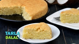 Coconut Cake - Eggless Coconut Cake
