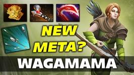 Wagamama Windranger NEW META Dota 2