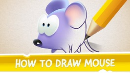 How to Draw Mouse from Cut the Rope - Magic