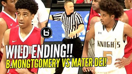 Wild Ending Mater Dei Vs Bishop Montgomery Vs The Refs In State Regional Finals Full Highlights