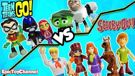 Teen Titans Go Vs Scooby Doo Haunted Mansion Dance Party  A Funny Kid Video