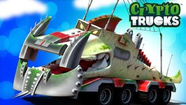 Yippii Truck Video - Cartoon Truck For Kids - Carnage Crew - Truck Videos - CryptoTrucks