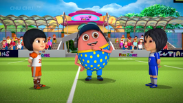 Learn Colors with Rugby - Kids Play with Colorful Playing Balls - ChuChu TV Funzone Games