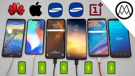Samsung S9 / S9  vs Mate 10 Pro vs iPhone X Charging SPEED Test