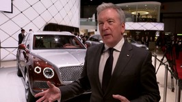 Bentley at 2018 Geneva Motor Show - Adrian Hallmark