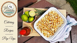 Sriracha Lime And Rosemary Popcorn