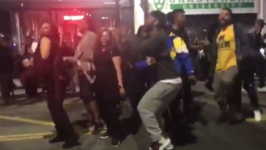 Warriors Fans Dance on Streets to Celebrate NBA Championship