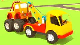 Helper Cars 8- Trucks and Cars for Kids.