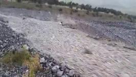 Rocks Flows Like River After Rain From Ex-Cyclone Gita Hits Rakaia Gorge