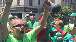 New Yorkers March in Solidarity with Marcha Verde in Dominican Republic