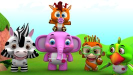 Head Shoulders Knees And Toes - Nursery Rhyme for Children
